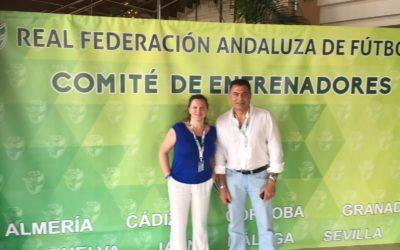 Asistencia al Congreso Iberoamericano de Entrenadores de Futbol. Punta Umbría. Huelva