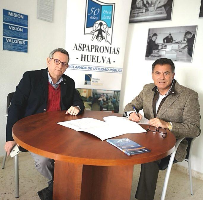Convenio de Colaboración Social con ASPAPRONIAS